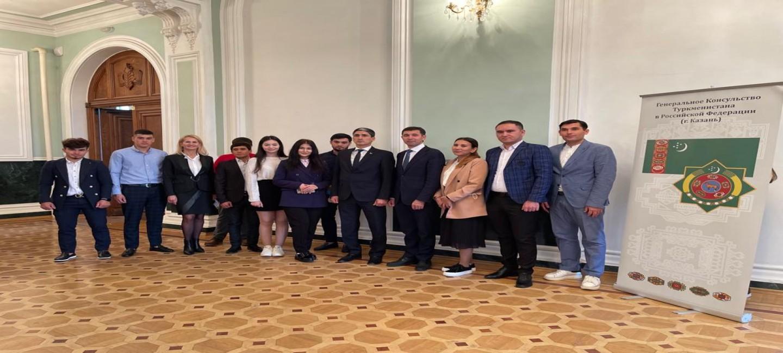 В Казани состоялась встреча с Ректором КГАУ  и туркменскими студентами