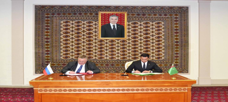 Туркменистан и Россия утвердили программу сотрудничества на ближайшие три года