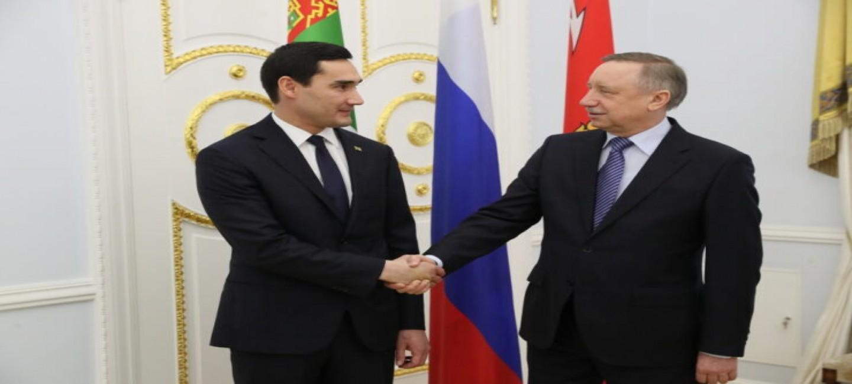 Заместитель Председателя Кабмина Туркменистана Сердар Бердымухамедов будет награжден почётным нагрудным знаком «За особые заслуги в области международного сотрудничества Санкт-Петербурга»
