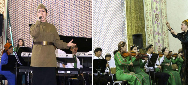 Легендарная «Кукушка» Цоя и другие кинохиты звучат в Туркменской национальной консерватории